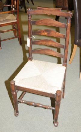6 Oak Ladderbauernhaus Küche Stühle Stuhl