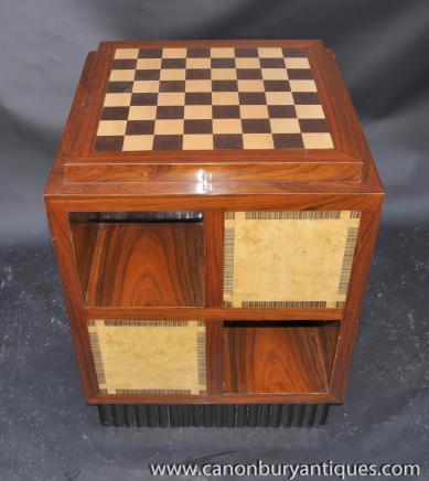 Art Deco Beistelltisch Chess Games Tabellen Möbel