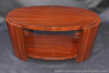 Art Deco Couchtisch Palisander Tabellen 1920er Jahren Möbel