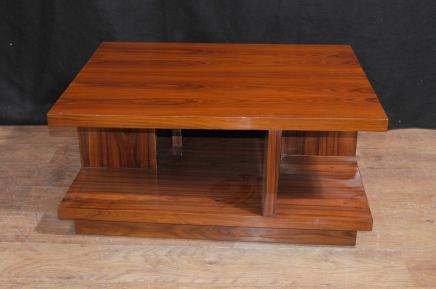 Art Deco Couchtisch Rosewood Modern Vintage Möbel
