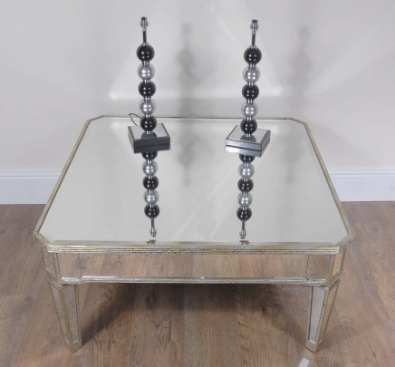 Art Deco Gespiegelte Coffee Table