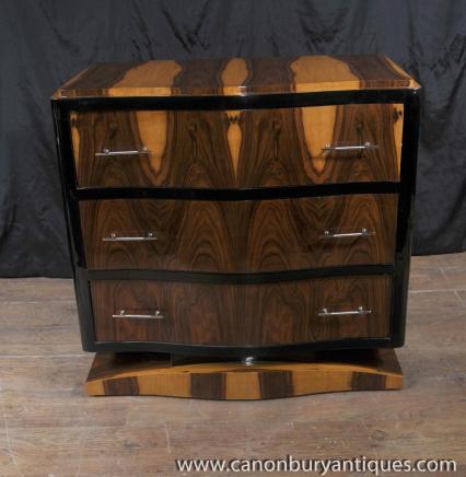 Art Deco Kommode Schubladen 1920er Schlafzimmer-Möbel