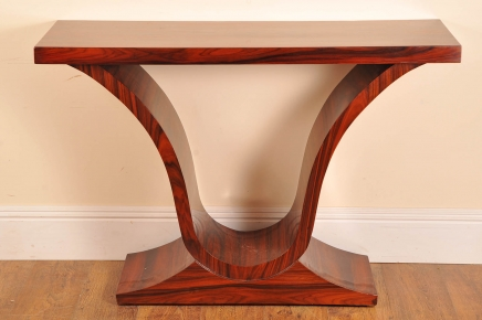 Art Deco Palisander Console Tabelle Ogee Tabellen