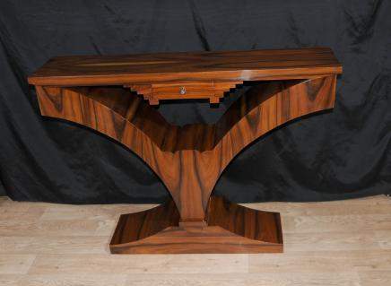 Art Deco Palisander Console Table Moderne Klassiker Interiors