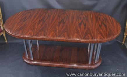 Art Deco Palisander Esstisch Diner Möbel