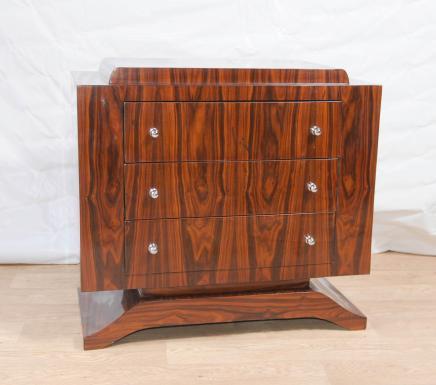 Art Deco Palisander Kommode Schubladen Kommode Schrank Möbel