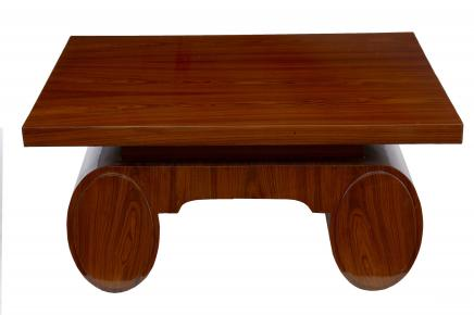 Art Deco Rosewood Coffee Table 1920er Vintage Möbel