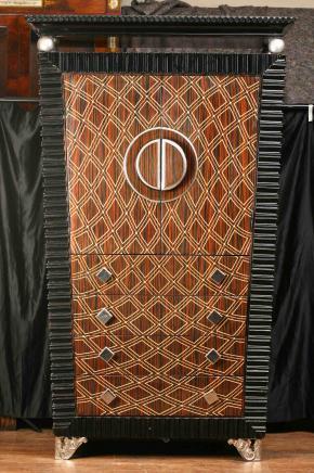 Art Deco Schrank Kommode Schrank Schrank 1920er Jahren Möbel