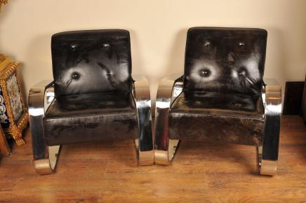 Art Deco Sessel Sessel Moderne Retro