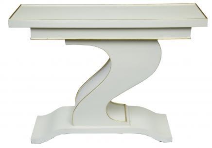 Art-Deco-Z Console Tabelle 1920er Vintage Möbel