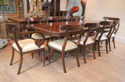 Chippendale Esstisch Set Trafalgar Stühle Set Suite