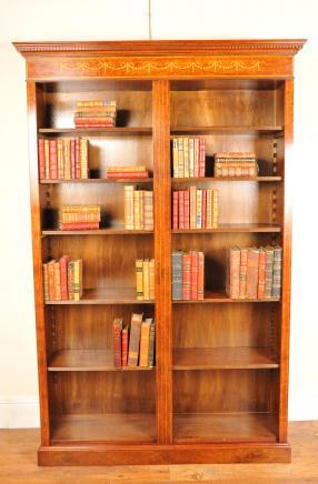 Bücherregal gemalt  Sheraton Bücherschränke   Canonbury Antiquitäten - London ...
