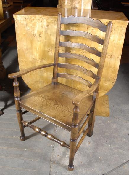 Englisch Eiche rustikal Ladder Stühle