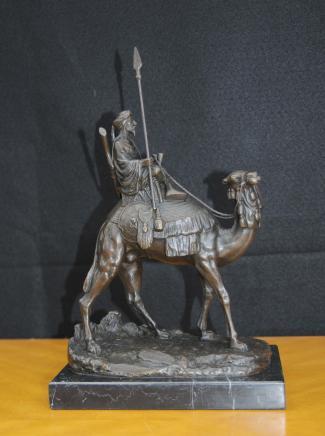 Französisch Bronze Casting arabischen Camel Signed Leonard