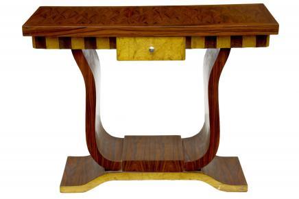 Funky Art-Deco-Inlay Halle Tischkonsole Tabellen Dressing Möbel