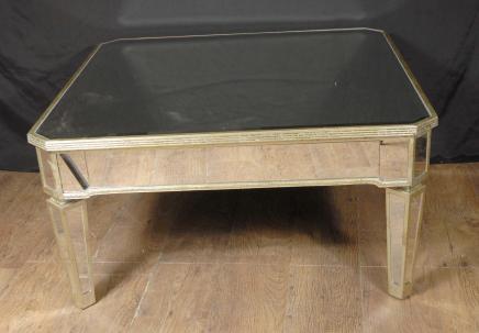 Italienische Art Deco Gespiegelte Coffee Table Tabellen