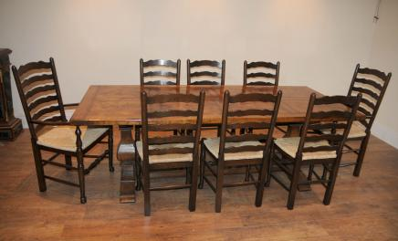 Ladder Chair Refektorium Tabelle Kitchen Dining Set Bauernhof