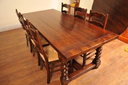 Ladder Stühle und Refektorium Tisch Küche Esszimmer-Set