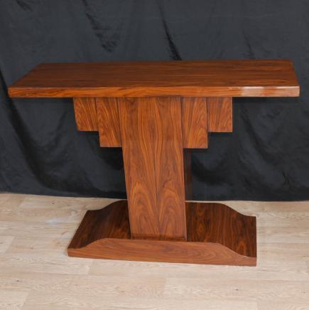 Rosewood Art Deco Modernist Console Tabelle 1920er Jahren Möbel