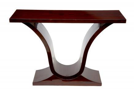 Rosewood Oggee Art Deco Konsolentisch Halle Tabellen Möbel