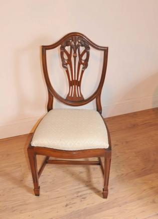 Stellen Prince Wales Mahagoni Esszimmerstühle Möbel
