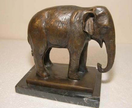 Bronze Casting Elefant Skulptur> Elefanten Tiere