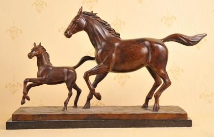 Englisch Bronze Casting Mare & Pony Pferd Pferde Fohlen