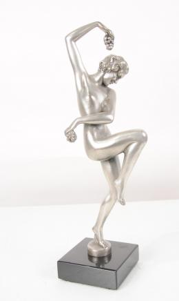Art Deco Bronze Bacchus Figurine Statue Bachannalian