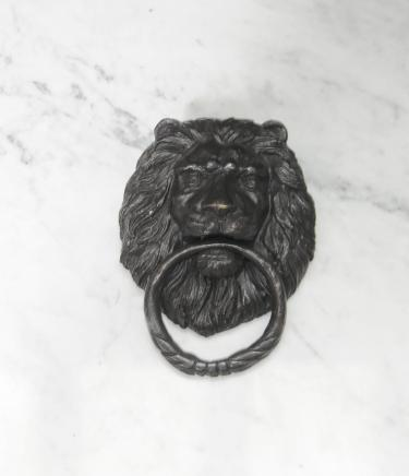 Bronze Lions Head Türklopfer Casting Lion