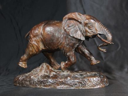 Bronzeguss Elefantenstatue Tiere