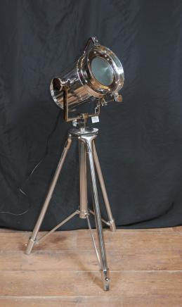 Chrome Tripod Spot Light Stehleuchte Hohe Licht Architectural Interiors