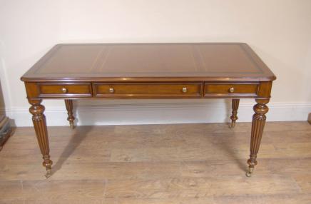 Englisch viktorianischen Gillows Schreibtisch Tabelle Bureau