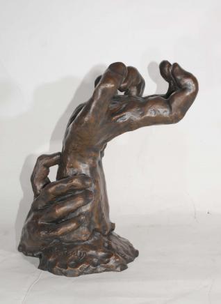 Französisch Bronze Rodin Hand Skulptur-Kunst