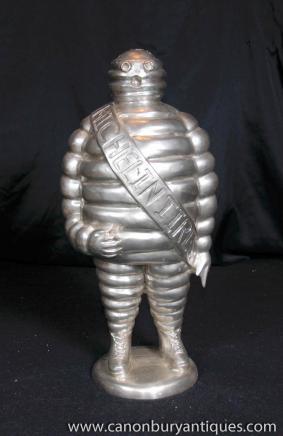 Französisch Michelin-Männchen Bibendum Bronze-Statue Casting Michellin