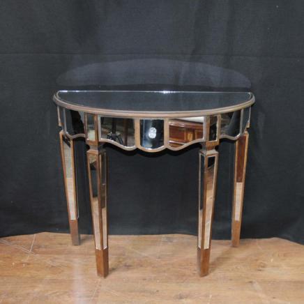 Gespiegelt Konsolentisch Art Deco Demi Lune Tabellen