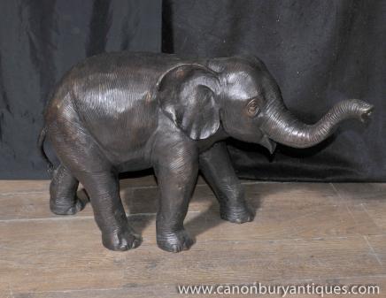 Große Bronze Elephant Statue Garten-Kunst-Architektur-