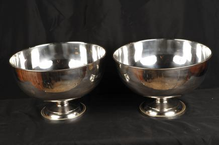 Sheffield Silver Plate Weinkühler Punch Bowl