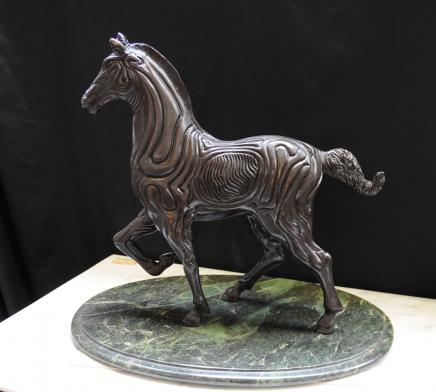 Spanisch Bronze Horse Statue Skulptur Absract Picasso Kunst