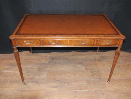 Walnut Gillows Schreibtisch Schreibtisch Bureau Plat Regency Möbel