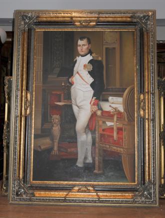 XL-Ölgemälde Napoleon Bonaparte Französisch Kaiser Militärführer