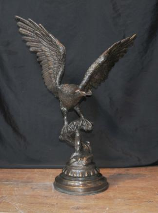 XL Bronze Casting amerikanischen Golden Eagle Birds Prey Statue Casting