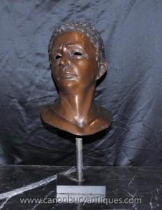 Bronze Büste griechische Philosoph Aristoteles Antike Philosophen Maske