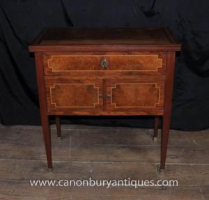 Französisch Regency Brust Schubladen Kabinett Walnut Möbel