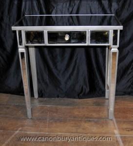 Mirrored Console Tabelle Art Deco Spiegel Tische Möbel