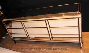 Art Deco Gespiegelte Kommode Dreibettzimmer Fronted Commode