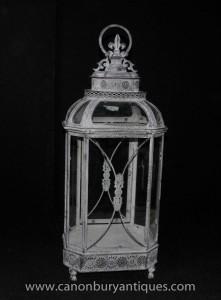 Englisch viktorianischen Laterne Glas Fall
