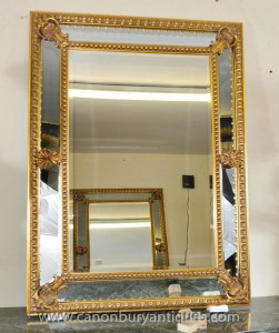 Gilt viktorianischen Pier Spiegelglas Englisch Spiegel