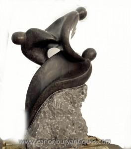 Hand geschnitzte Marmor Abstrakte Kunst Figural Statue modernistischen Kunst