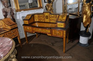 Regency Carlton House Schreibtisch Schreibtisch Burea Plat