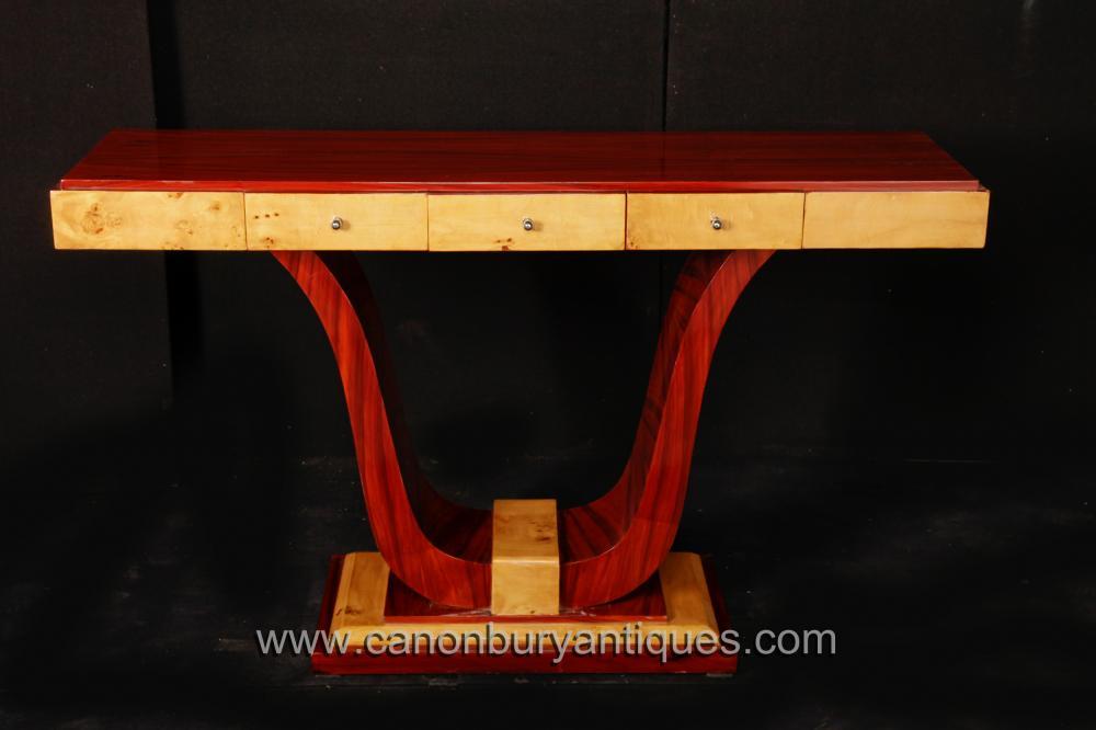 Vintage Kunst-Deko-Konsole Tabelle 1920er Interiors Möbel Tische